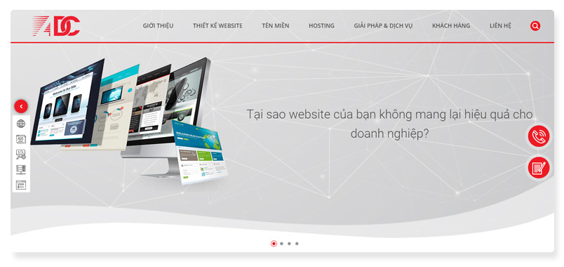 công ty thiết kế website adcvietnam