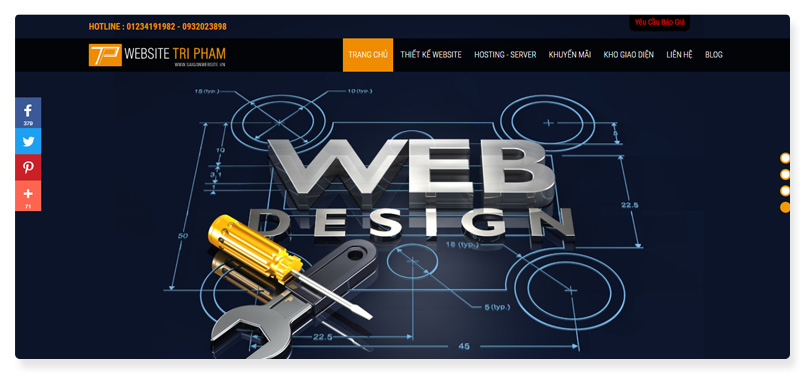công ty thiết kế website Trí Phạm