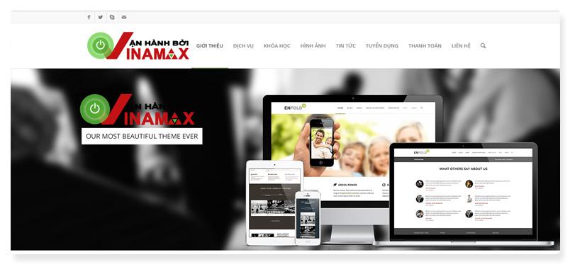 công ty thiết kế website Vinamax