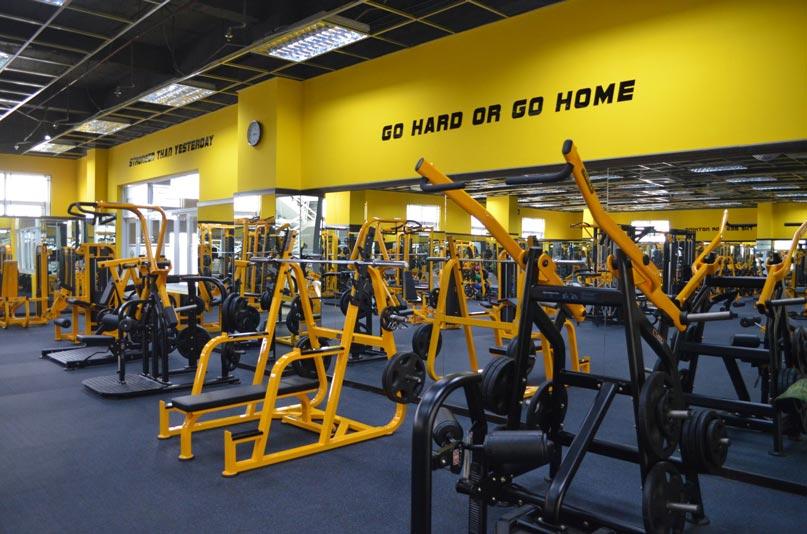 Diện tích phòng tập gym