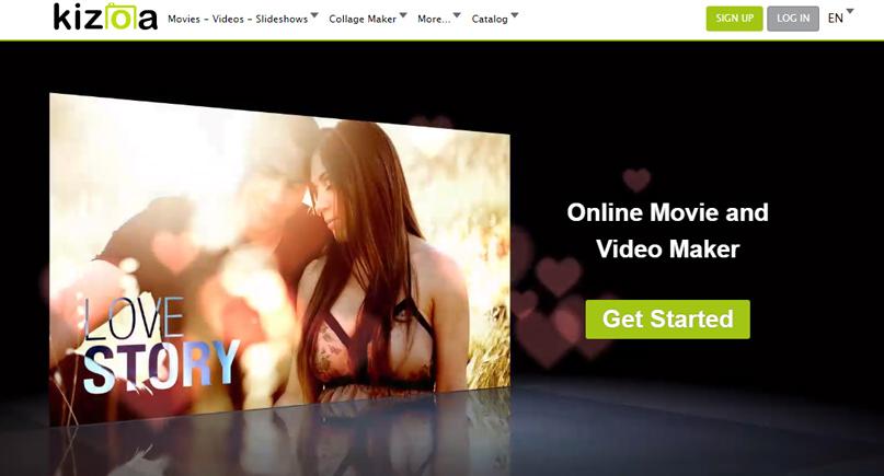 Kizoa - Phần mềm chỉnh sửa video