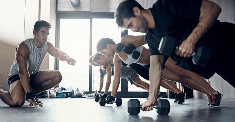 Nhân lực phòng tập Gym