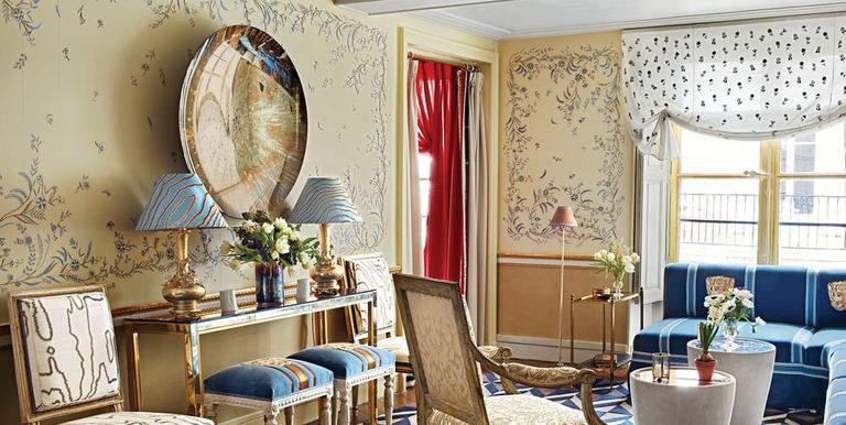 Phòng khách tại Paris