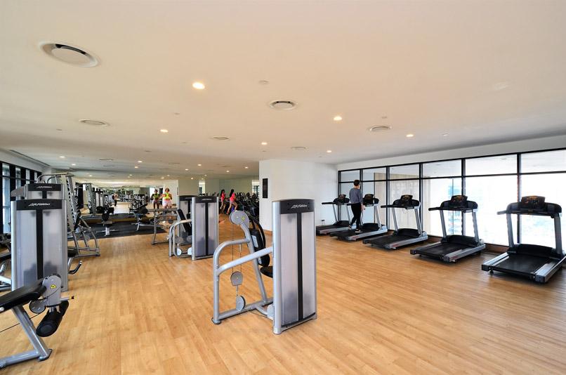 Phòng tập gym cần sạch sẽ thoáng mát