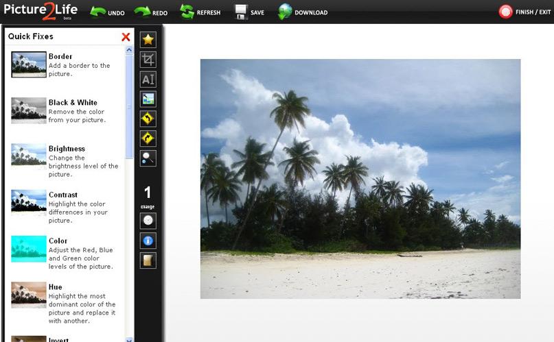 Picture 2 Life - Phần mềm chỉnh sửa ảnh miễn phí