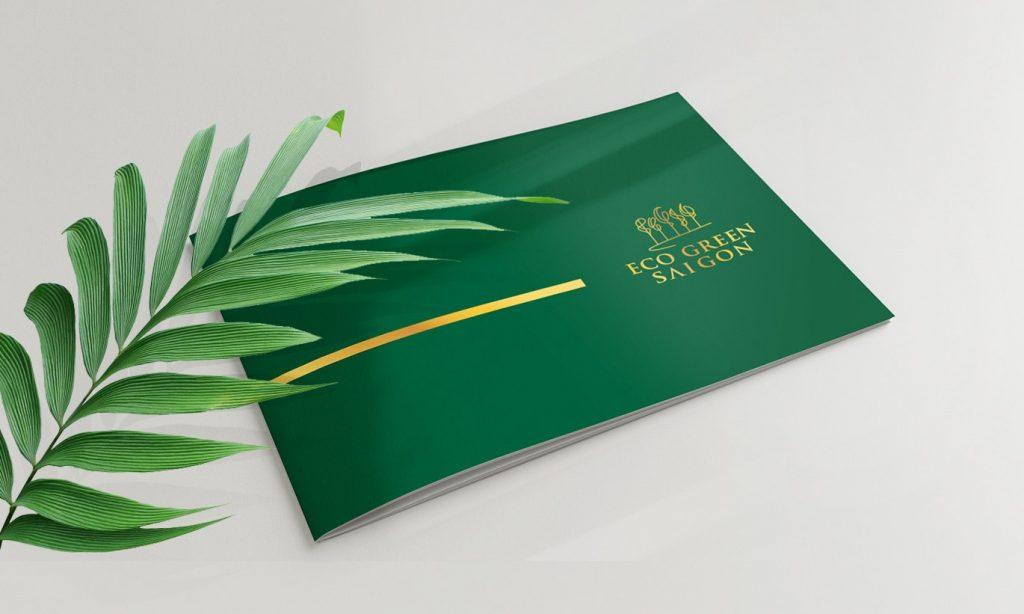 Thiết kế bìa catalogue sang trọng