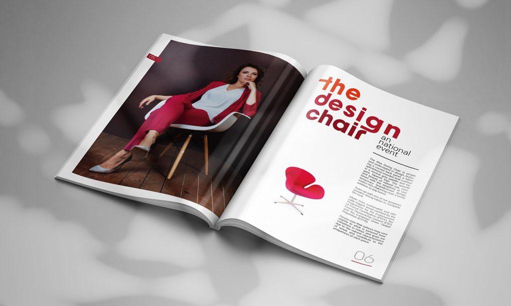 Bìa và keo dán khi thiết kế Catalogue