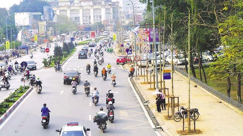 Đường phố rộng để mở tiệm rửa xe