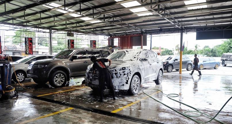 Lựa chọn loại hình rửa xe phù hợp