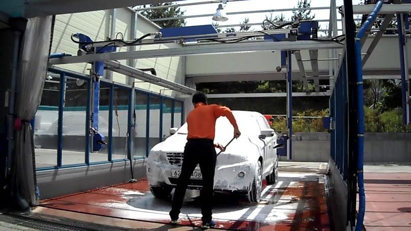 Hệ thống máy rửa xe