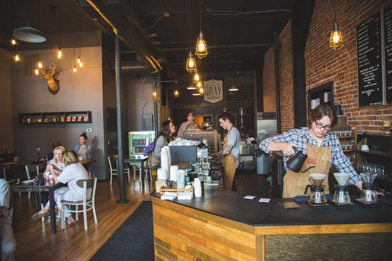 Quán cafe vốn vừa và nhỏ