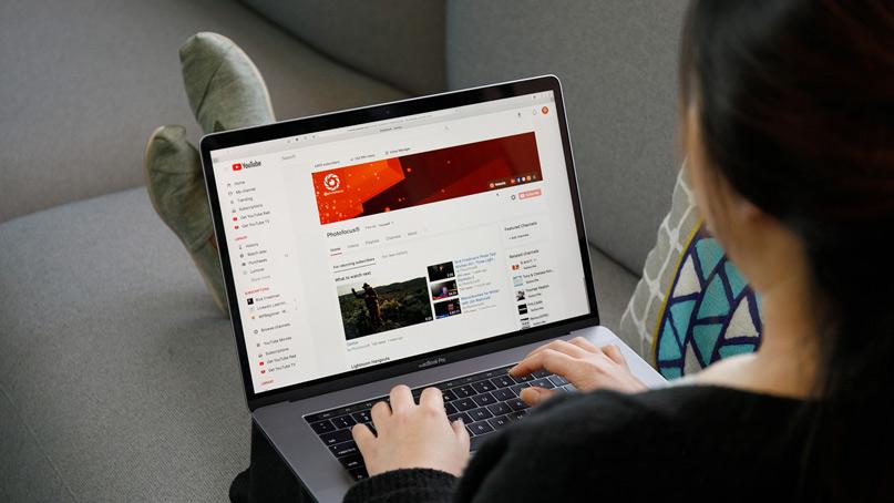 Tạo kênh Youtube thực hiện video