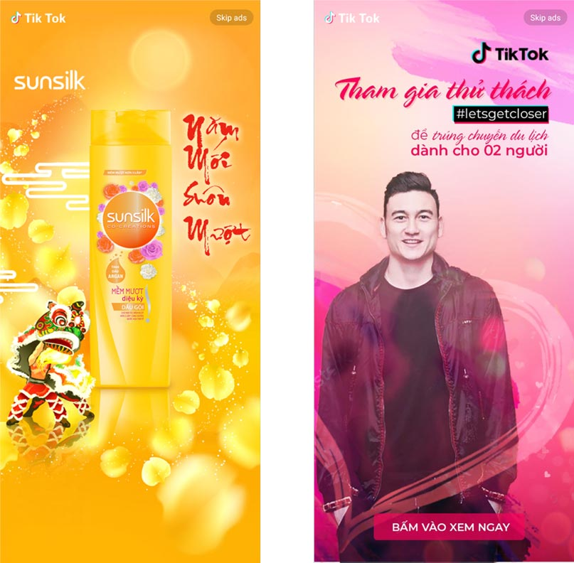 TikTok Ads Banner
