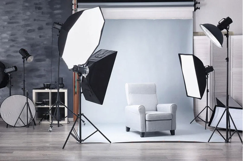 Ssetup bối cảnh chụp ảnh sản phẩm