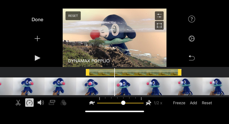 ứng dụng ghép nhạc vào video iMovie