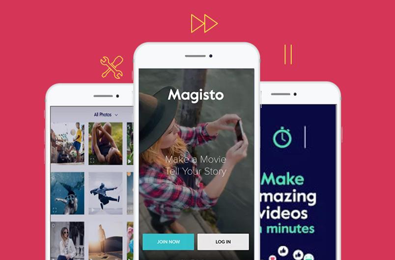 ứng dụng ghép nhạc vào video Magisto