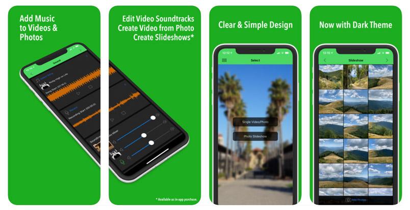 ứng dụng ghép nhạc vào video VideoSound