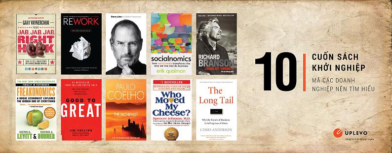 10 cuốn sách nên đọc trước khi khởi nghiệp kinh doanh