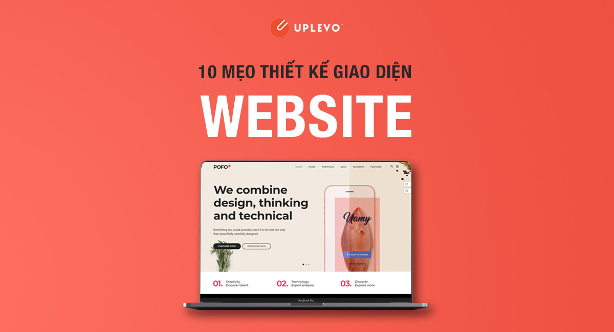 10 mẹo thiết kế giao diện website