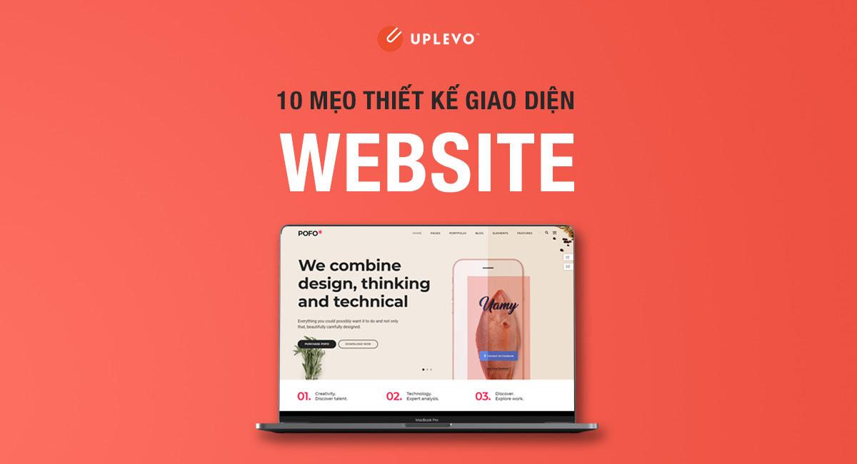 10 Mẹo Thiết Kế Giao Diện Website Chuẩn UI/UX
