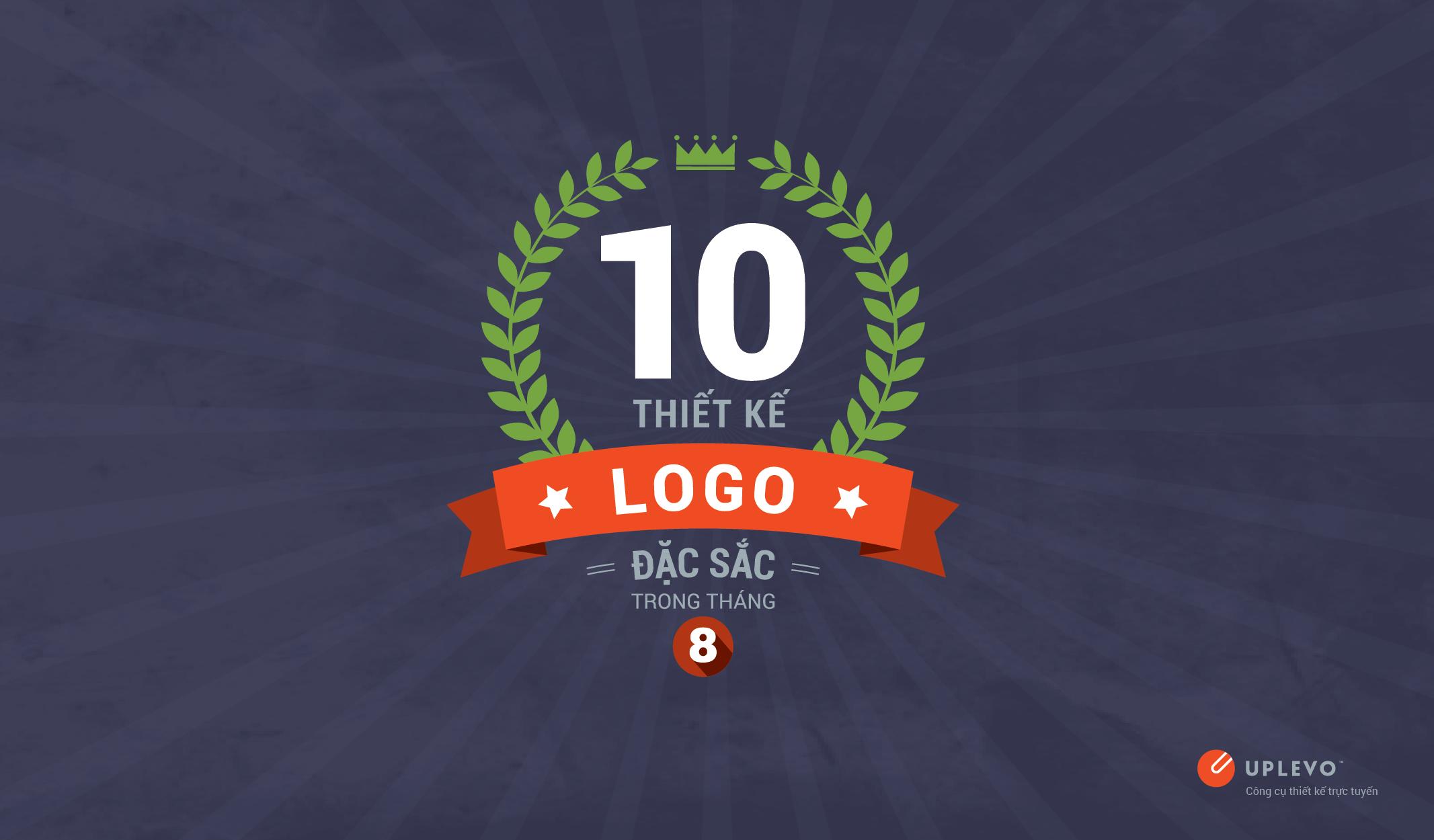 10 thiết kế logo đặc sắc tháng 8