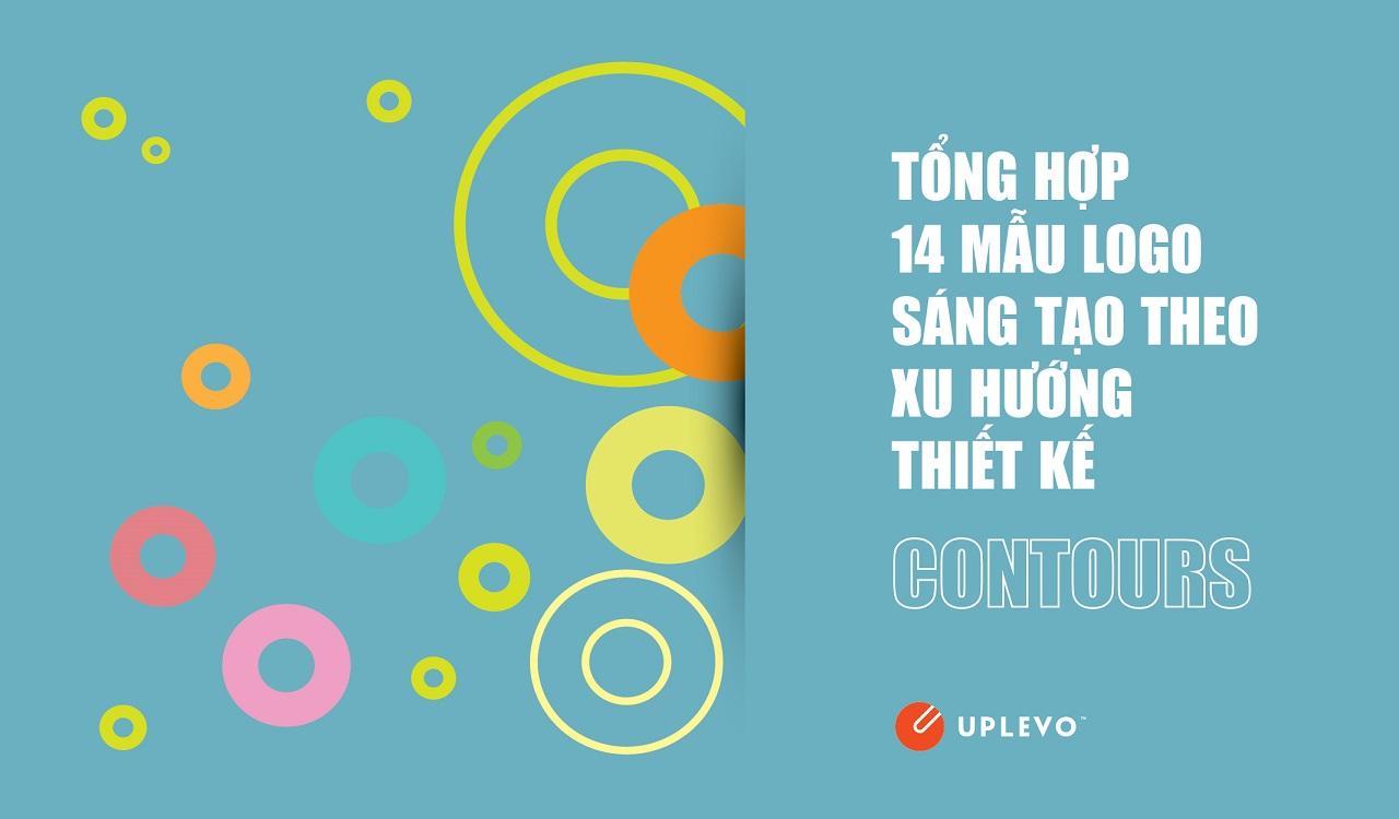 14 mẫu logo sáng tạo xu hướng thiết kế Contours