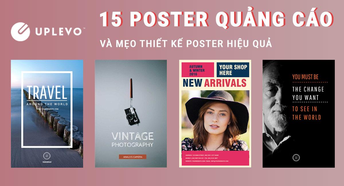 Poster Là Gì? 15 Mẫu Poster Quảng Cáo Đẹp, Sáng Tạo