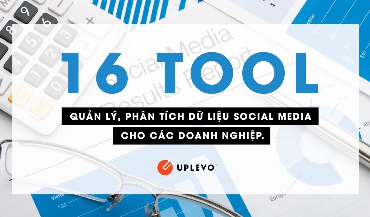 16 tool quản lý phân tích social