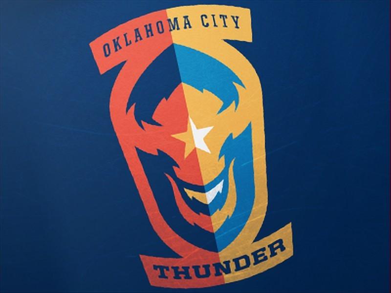 logo cua OKC Thunder Sports Logo
