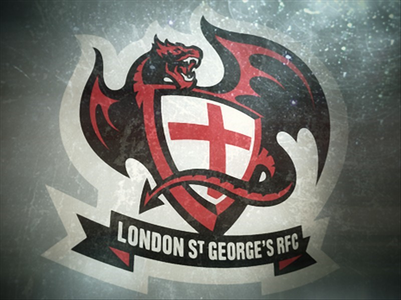 logo của London St George's RFC Dragons