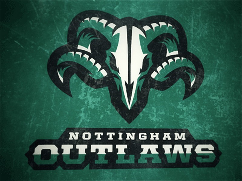 logo của Nottingham Outlaws Secondary Logo