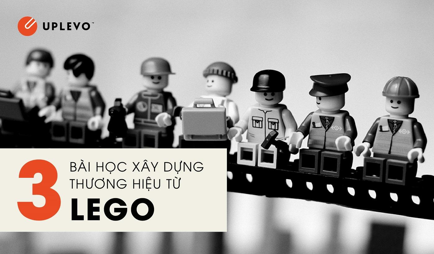 3 bài học xây dựng thương hiệu từ Lego