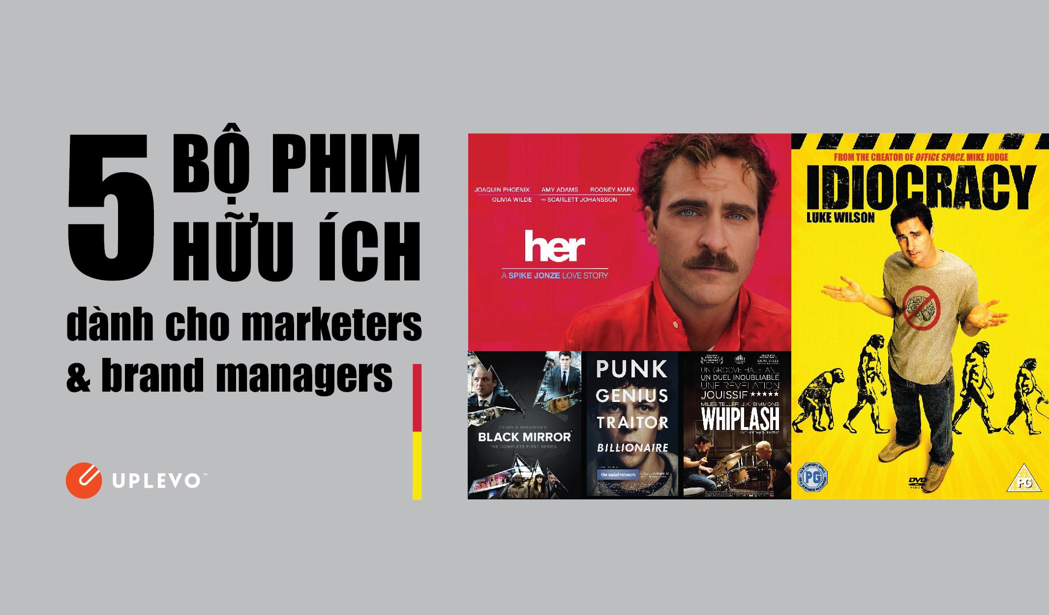 5 bộ phim hữu ích cho dân marketer brand