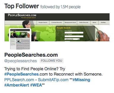 tìm những người ảnh hưởng trên twitter của bạn