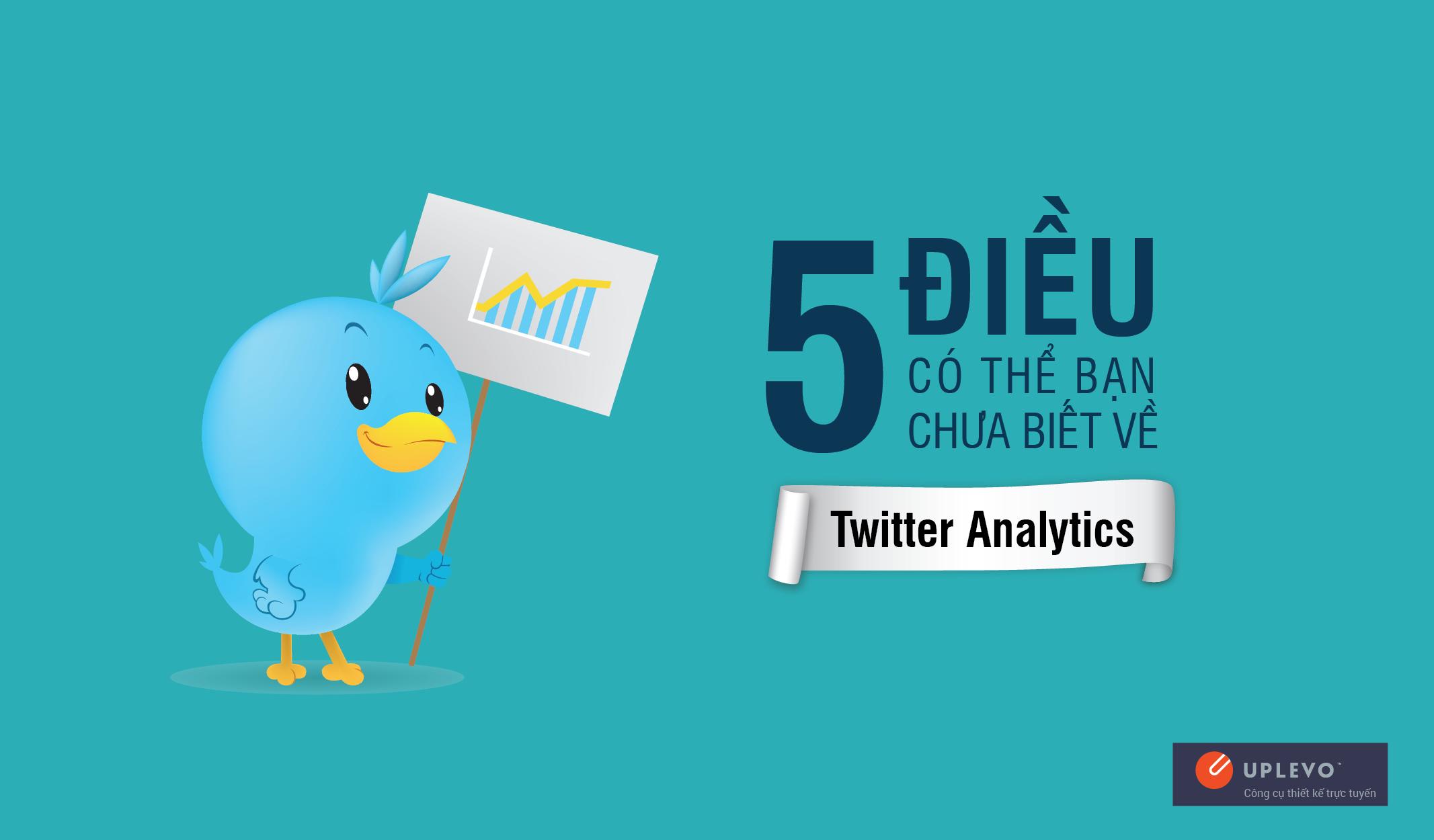 5 Điều Có Thể Bạn Chưa Biết Về Twitter Analytics
