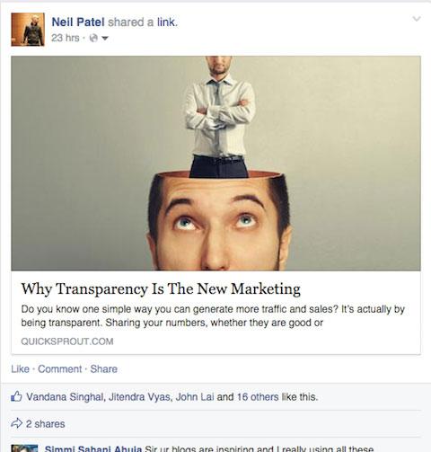 7 thủ thuật tăng tỷ lệ nhấp chuột trên Facebook