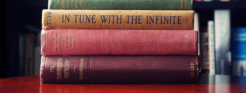 ảnh bìa facebook đẹp các quyển sách