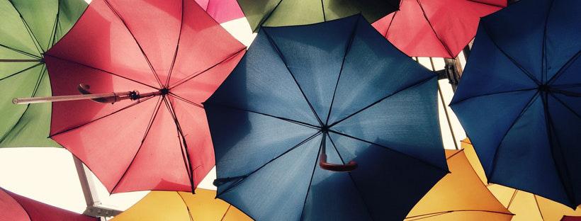 ảnh bìa facebook đẹp chiếc ô