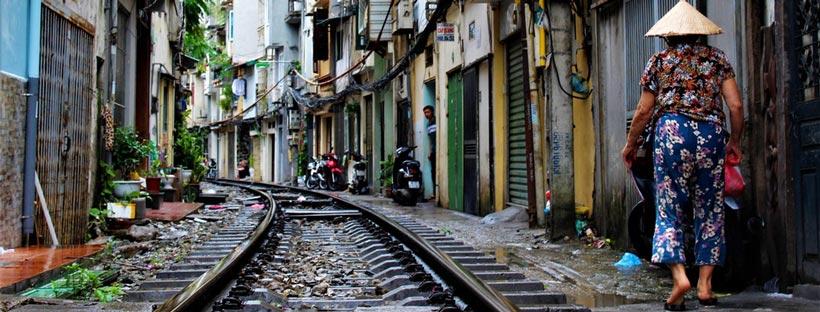 ảnh bìa facebook đường tàu Việt Nam