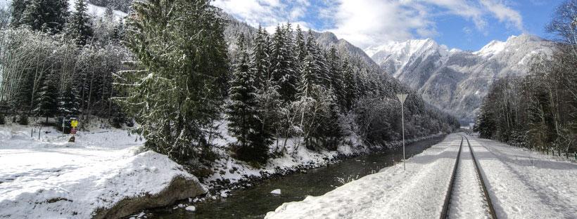 ảnh bìa facebook núi tuyết