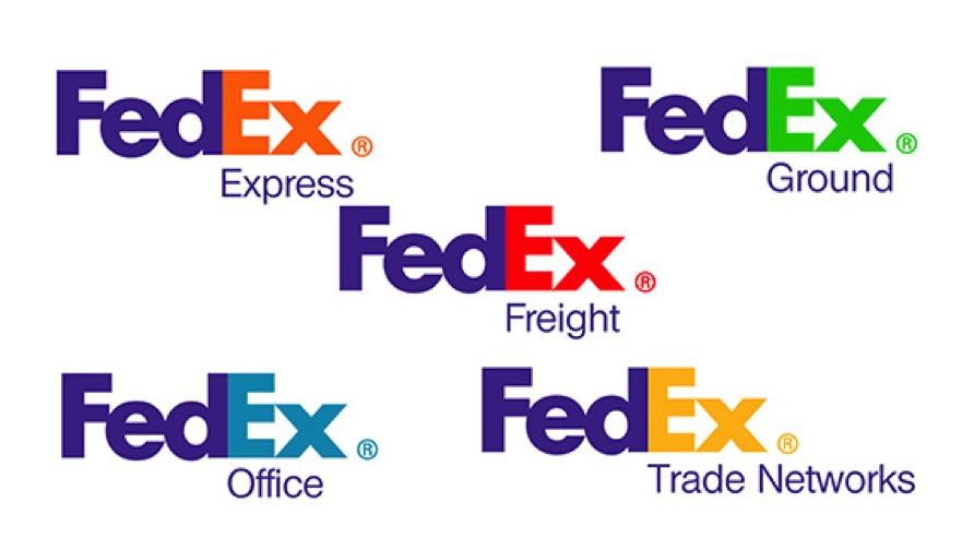 bài học về logo của fedex