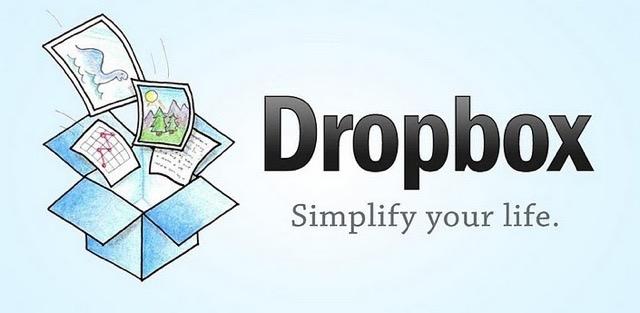 banner quảng cáo của dropbox