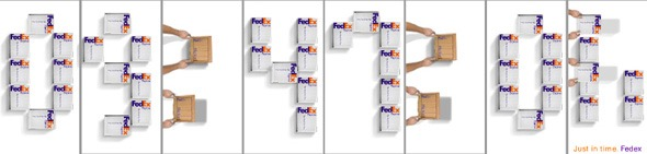 banner quảng cáo của fedex