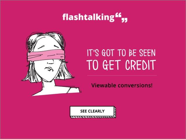 banner quảng cáo của flashtalking