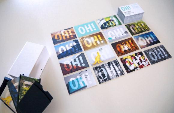 cân nhắc việc thiết kế series card visit