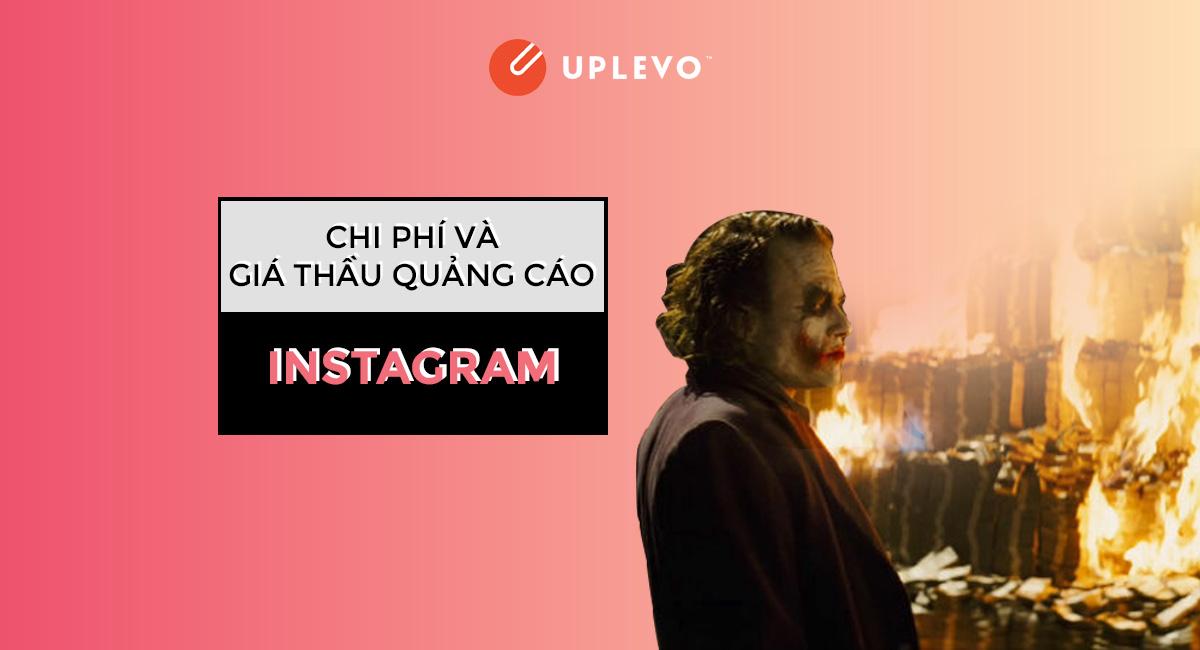 chi phí và giá thầu của quảng cáo instagram