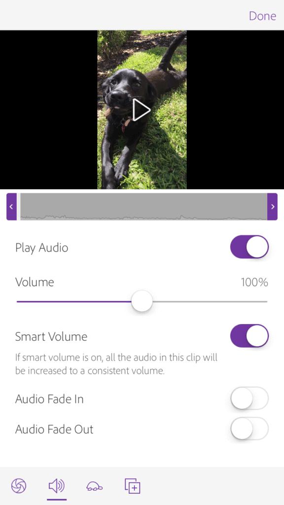 chỉnh sửa cắt ghép video trên điện thoại adobe 3