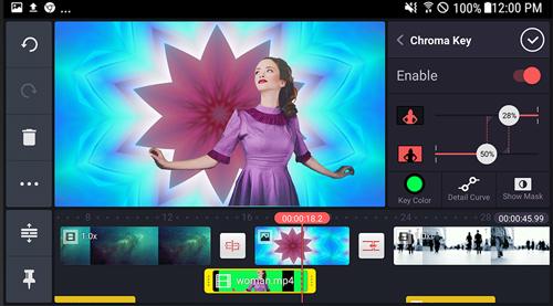 chỉnh sửa cắt ghép video trên điện thoại KineMaster 1