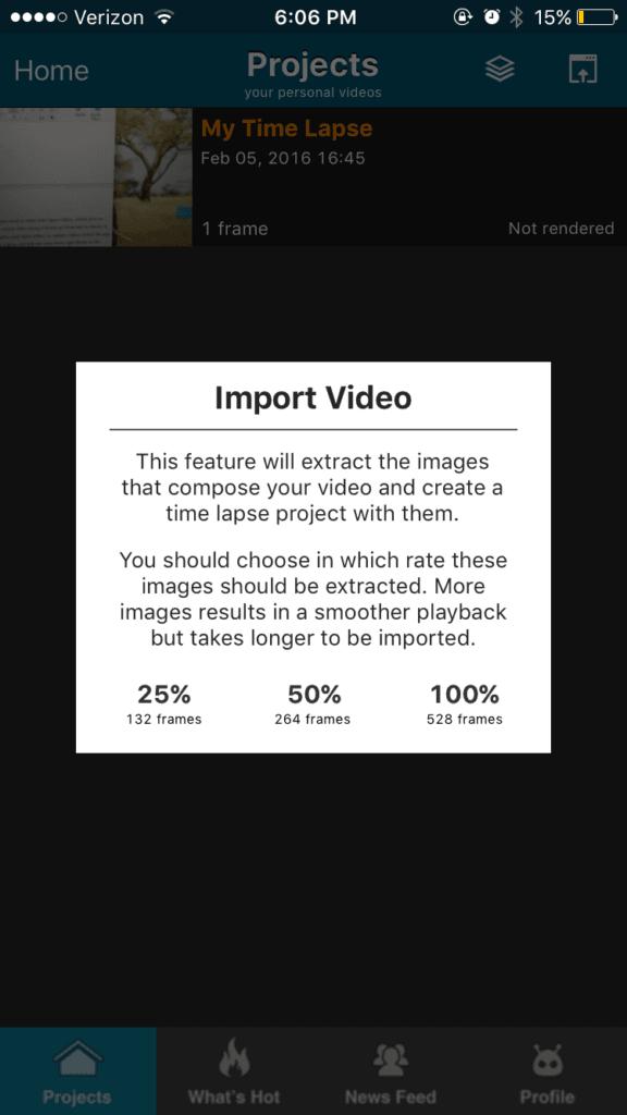 chỉnh sửa cắt ghép video trên điện thoại lapseIt 2