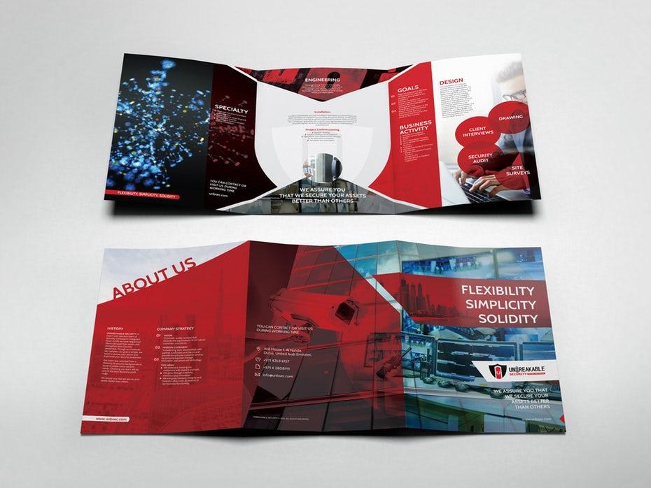 chọn loại brochure